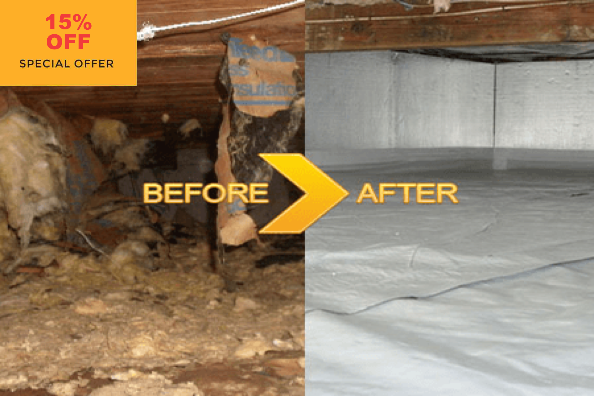 Attic & Crawl Space Clean Up