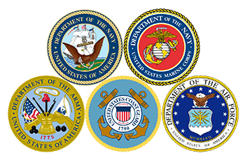 Military branches graphic - EnviroSmart Solution