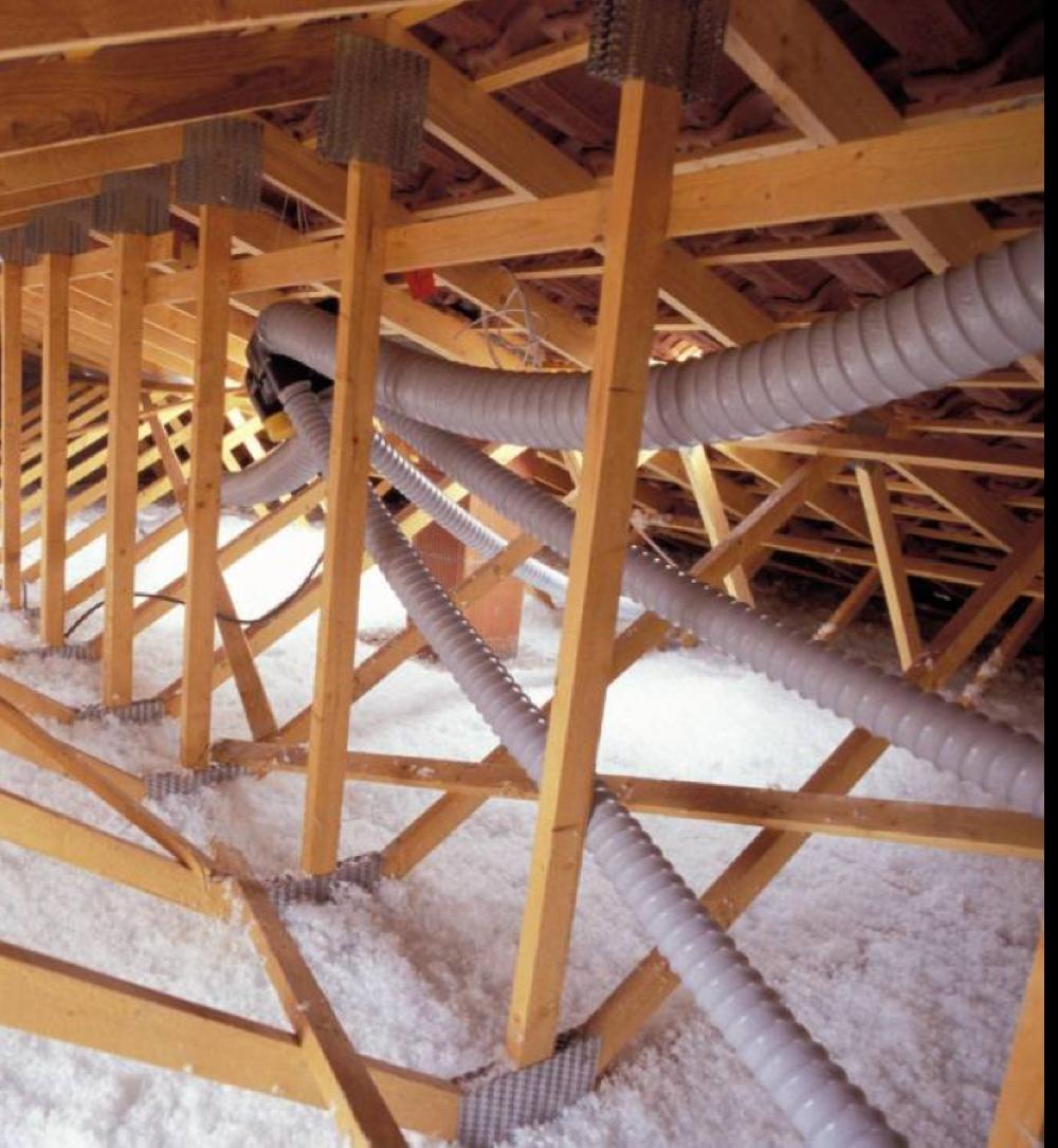 Attic insulation - EnviroSmart Solution