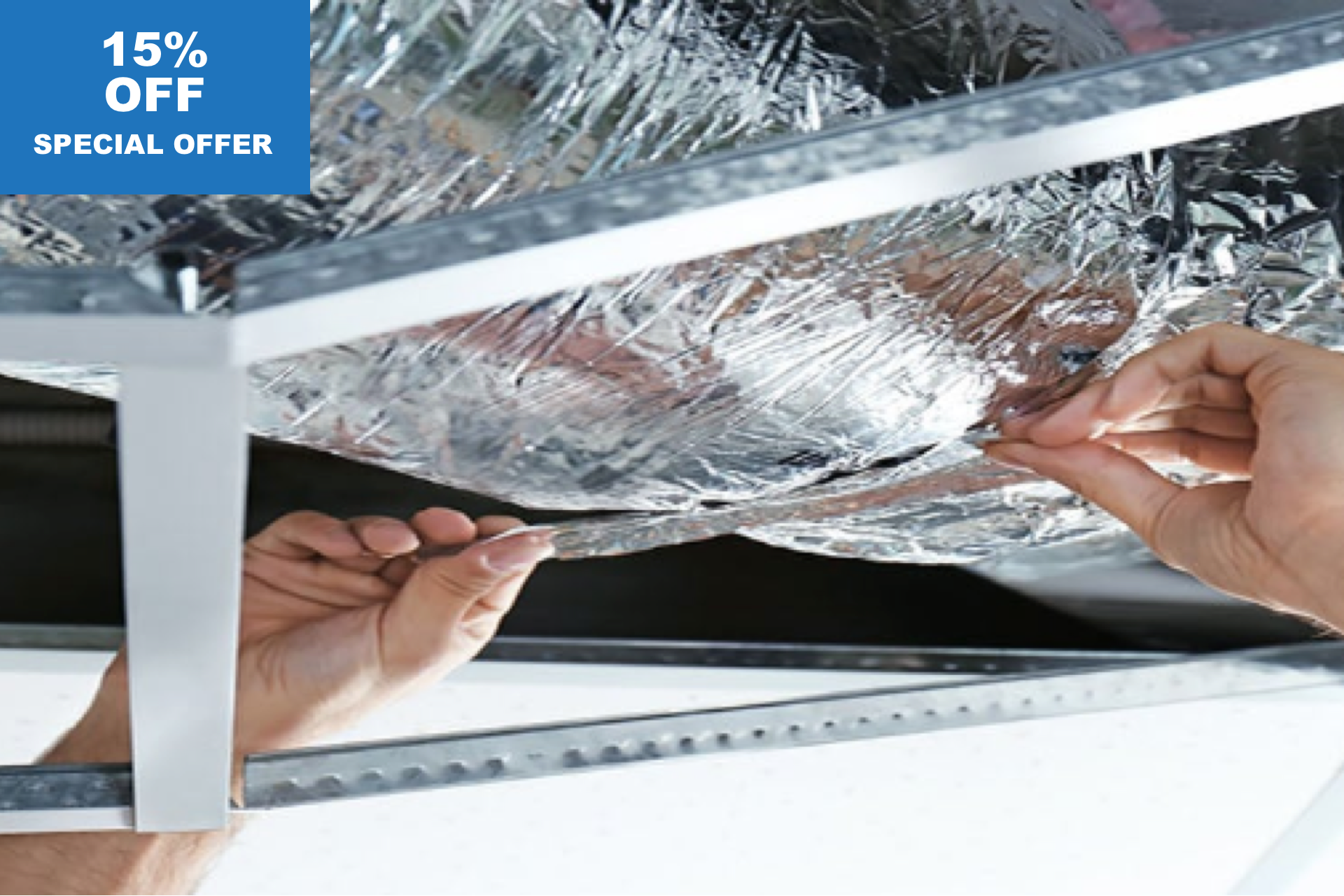 15% OFF on Air Duct Replacement works