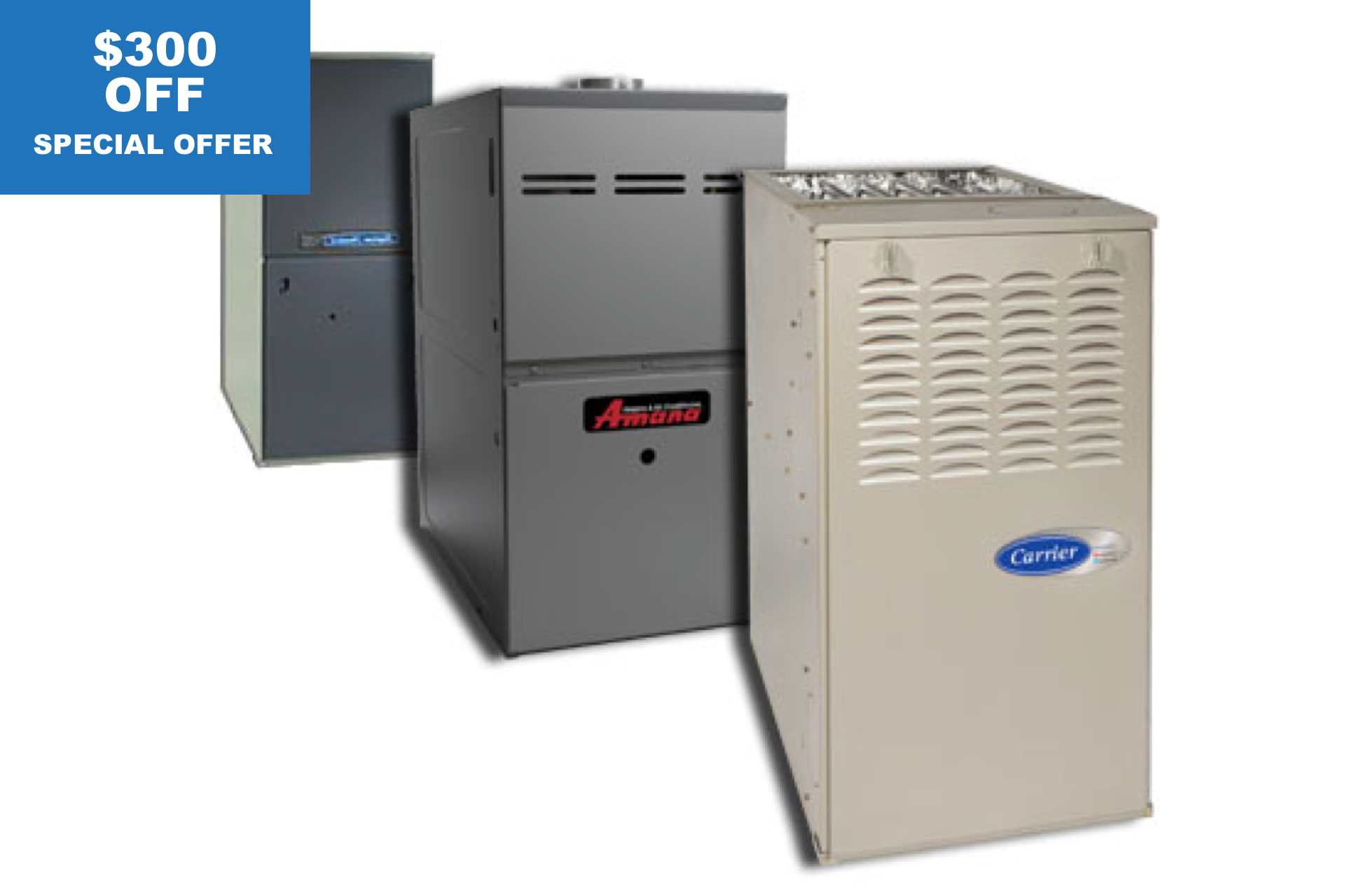 $300 OFF on Any New Furnace